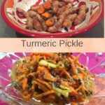 Pin image Turmeric pickle with text overlay