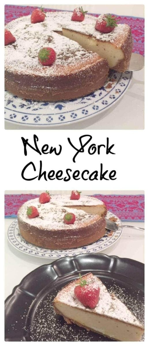 Pin image cheesecake with text overlay