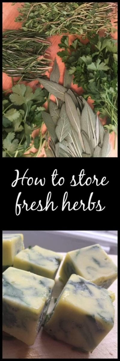 Pin image fresh and frozen herbs