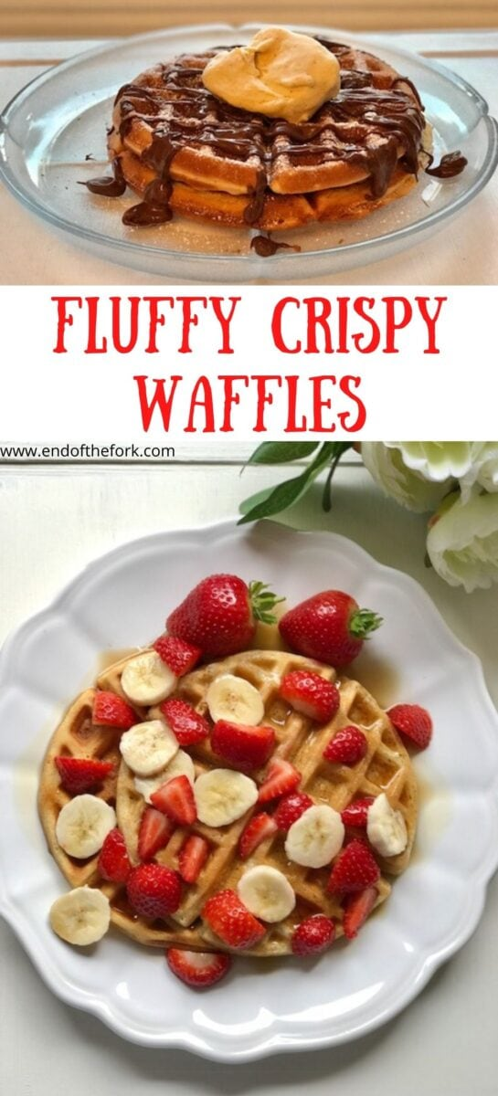 Pin image two images of waffles
