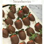 chocolate dipped strawberries pin