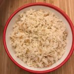 Turkish rice in bowl