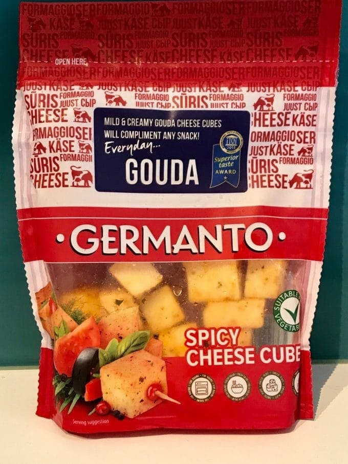 Front of Germanto cheese pack