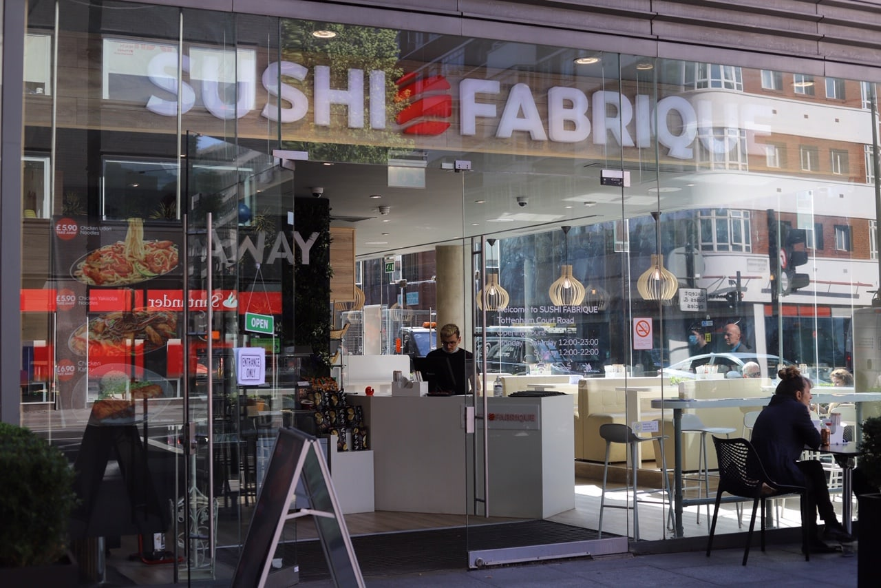 Exterior view of Sushi Fabrique